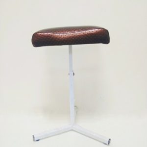 chair for pedicure brown