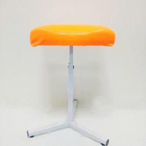chair for pedicure orange