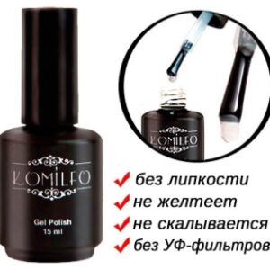 Top no wipe No filters 15 ml