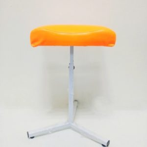 chair for pedicure orange