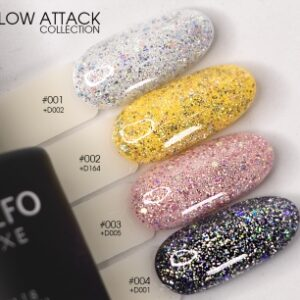 "Гель лаки Komilfo ""Glow Attack"""