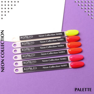 "Гель лаки Komilfo ""Deluxe Series Color Gel Polish Neon"""