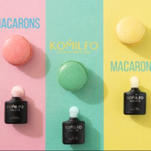 Гель лаки Macarons, Komilfo